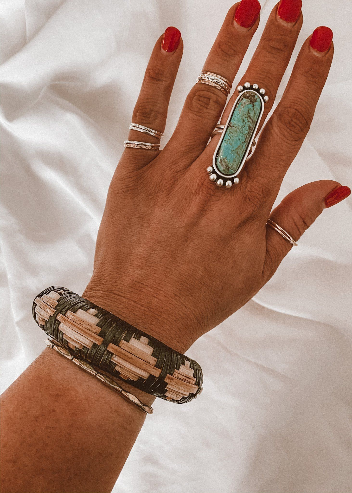 Photo of FINAL SALE: ONWARD TRIBAL BANGLE