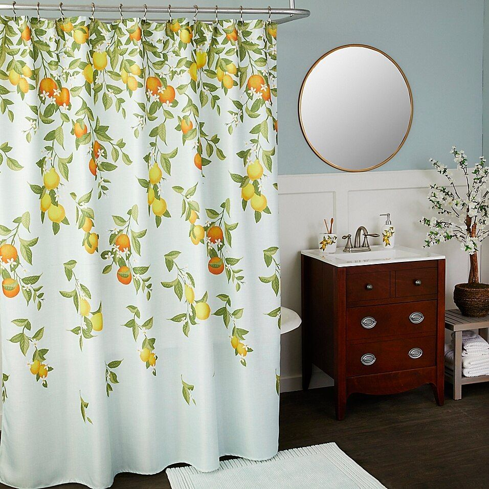 Citrus Grove Shower Curtain Multi In 2020 Curtains Bath