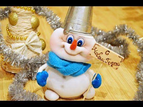 Снеговик из носка своими руками / Подарки, сувениры и. - Pinterest 51