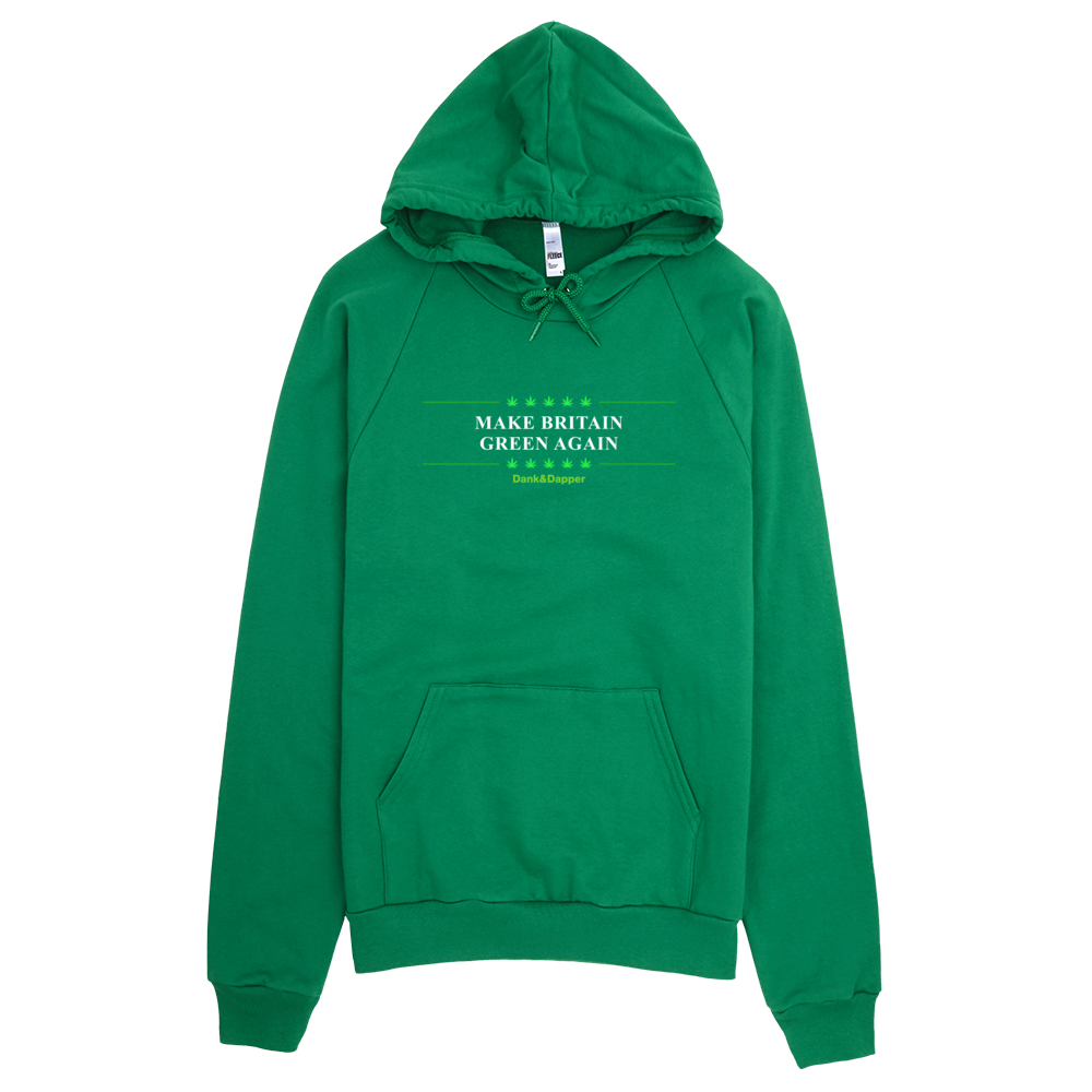 Make Britain Green Again Men's Hoodie.