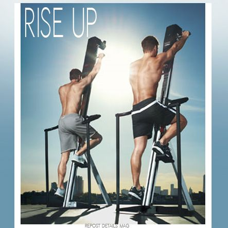 Rise up for better cardio at versaclimber.com