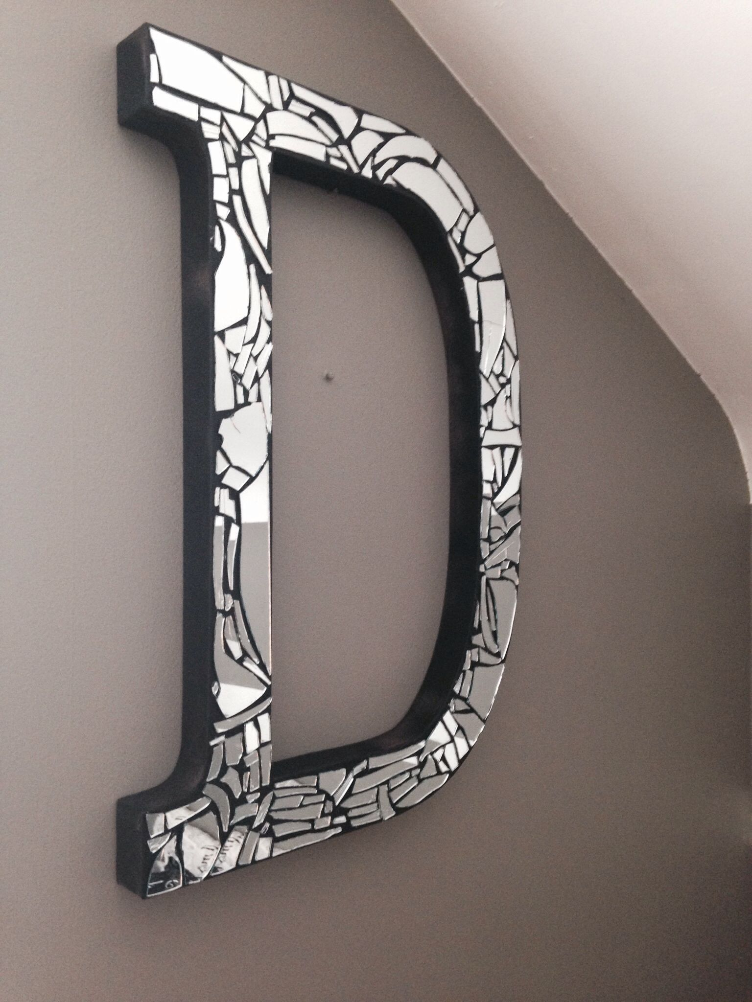 Broken Mirror Art Things Needed A Glue Gun Hammer Sheet And Anything You Want To Place On