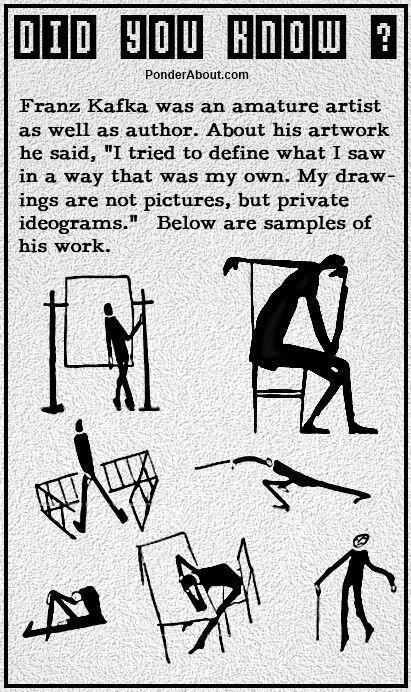 Franz Kafka Literatur Grafiken Und Kunst