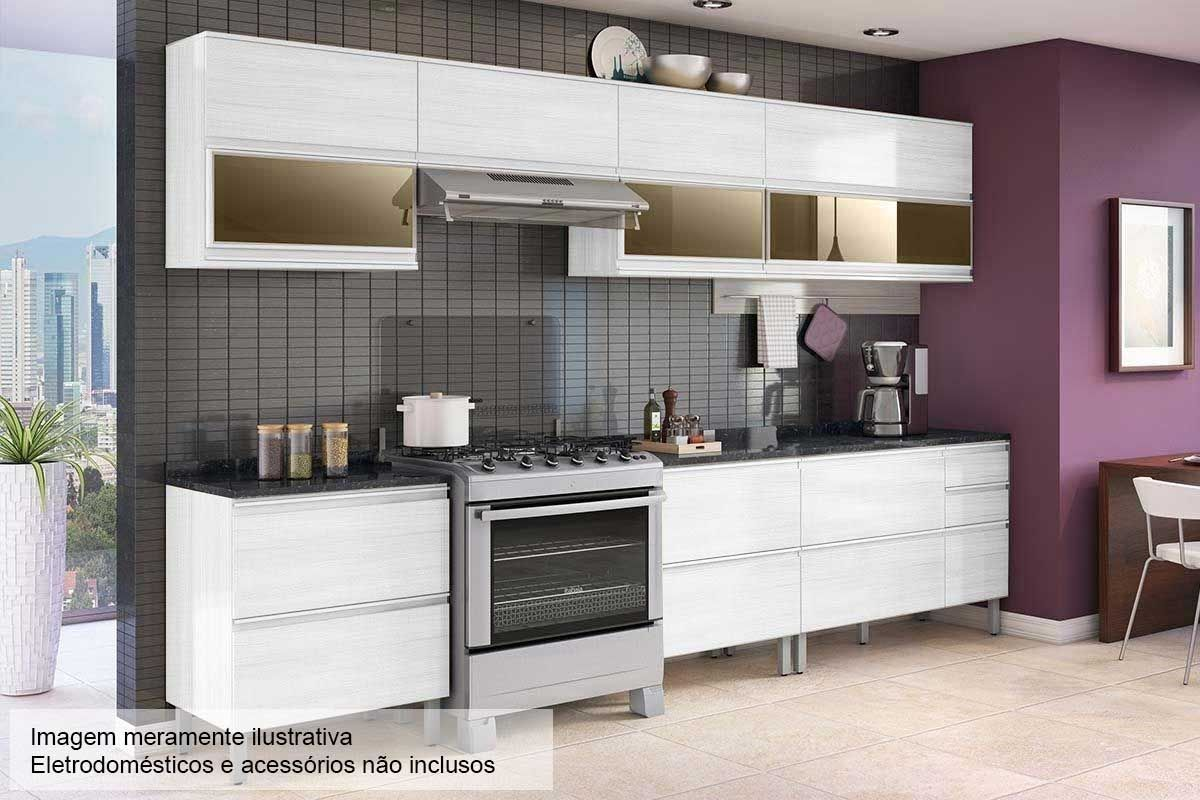 Cozinha Completa Itatiaia Belissima Plus De Madeira C 10 Pecas