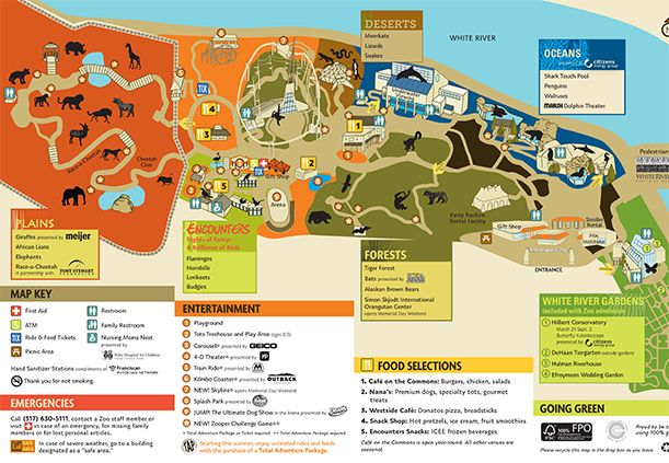 Indianapolis Zoo Map Indianapolis Zoo   Downtown Indianapolis | Summer fun & short  Indianapolis Zoo Map