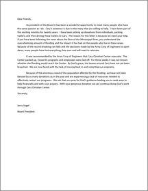 Solicitation Appeal Letter - A solicitation letter can make or break ...