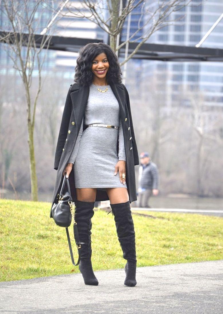 Winter Style Blogger Collaboration Fashion Black Girl Fashion Black Women Fashion [ 1095 x 779 Pixel ]