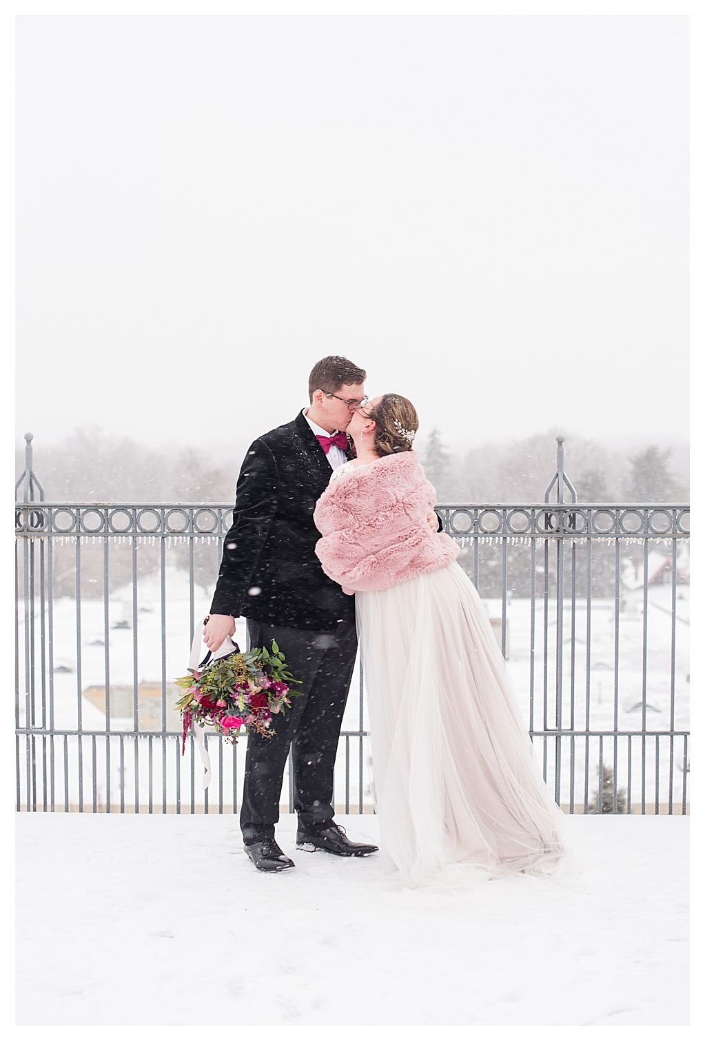 Winter Wedding at The Mill Top Noblesville Indianapolis