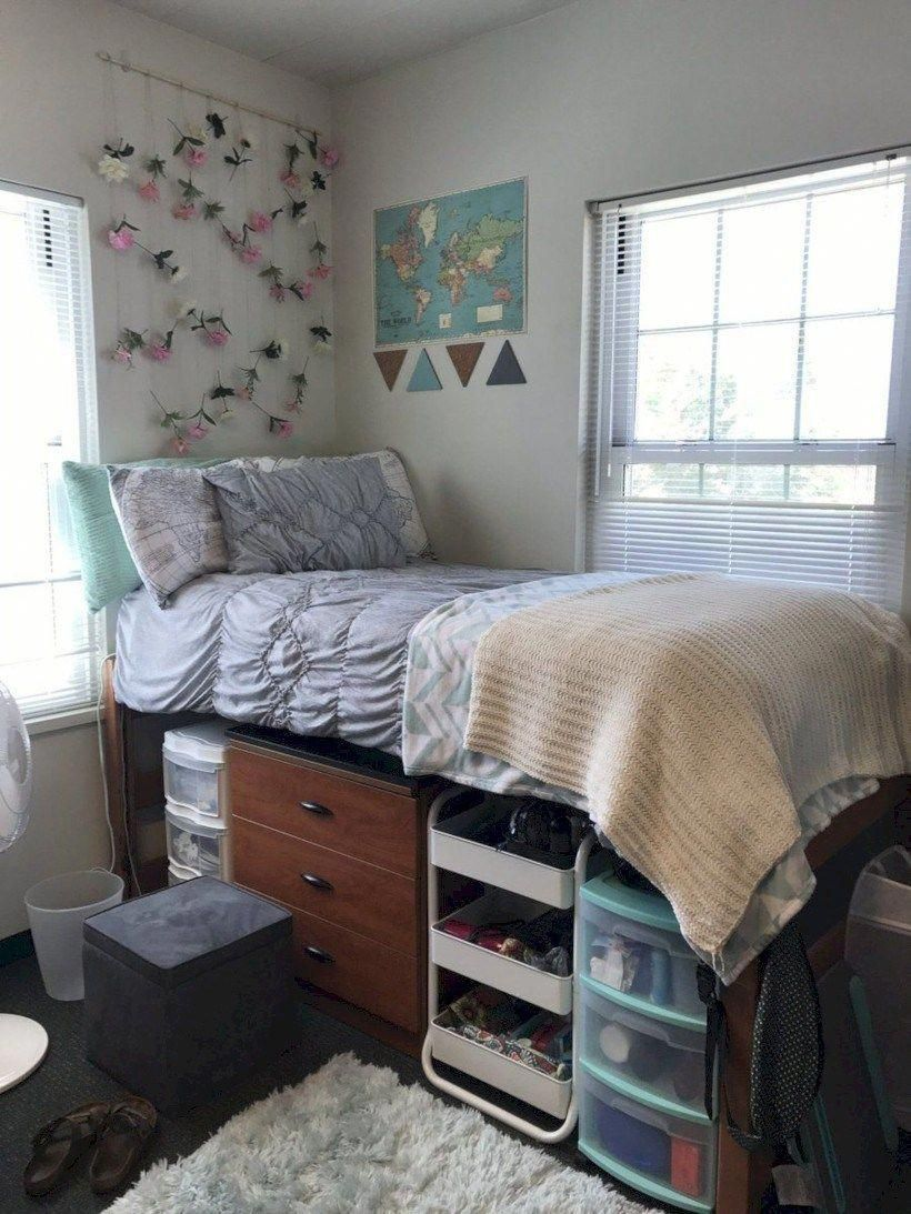 College Dorm Room Design: Creative Dorm Room Storage Organization Ideas On A Budget
