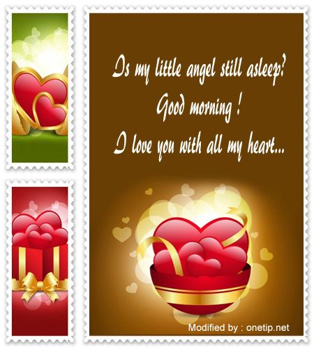 Love Quotes About Life: Cute Romantic Good Morning Wishes,sweet Good Morning Text