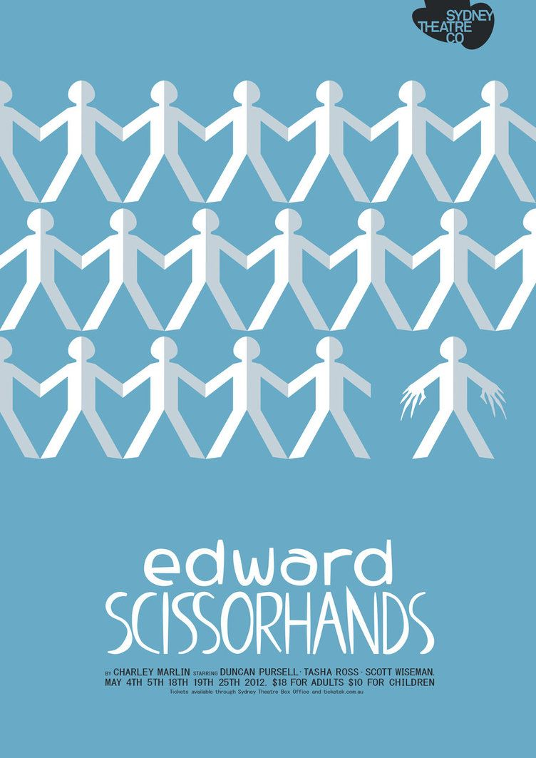 Edward Scissorhands 1990 By Crystal Ross Edwardscissorhands