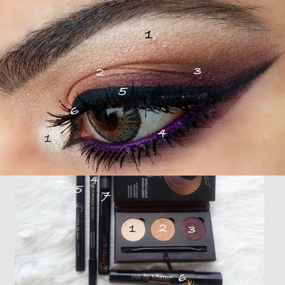 Look created by Beauty By Sahar using Eye Of Horus