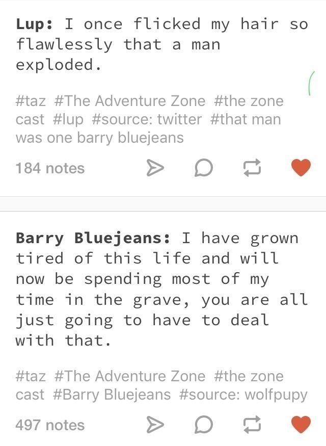 The Adventure Zone Quotes | The adventure zone, Adventure ...