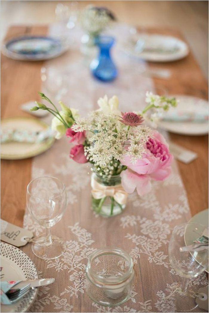 Vintage Tischdekoration Hochzeit Simple Tischdeko Hochzeit Selber Machen