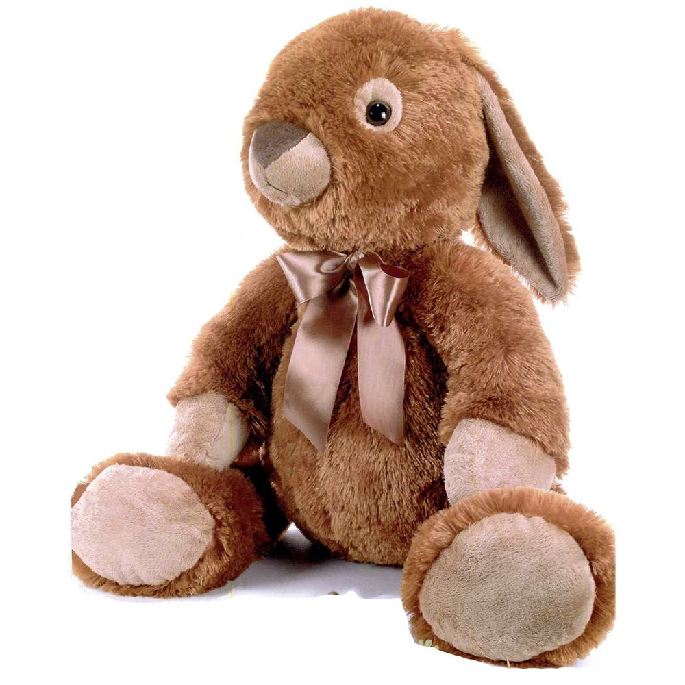 une grosse peluche lapin de 75 cm de couleur marron de la marque plush and company pour des. Black Bedroom Furniture Sets. Home Design Ideas