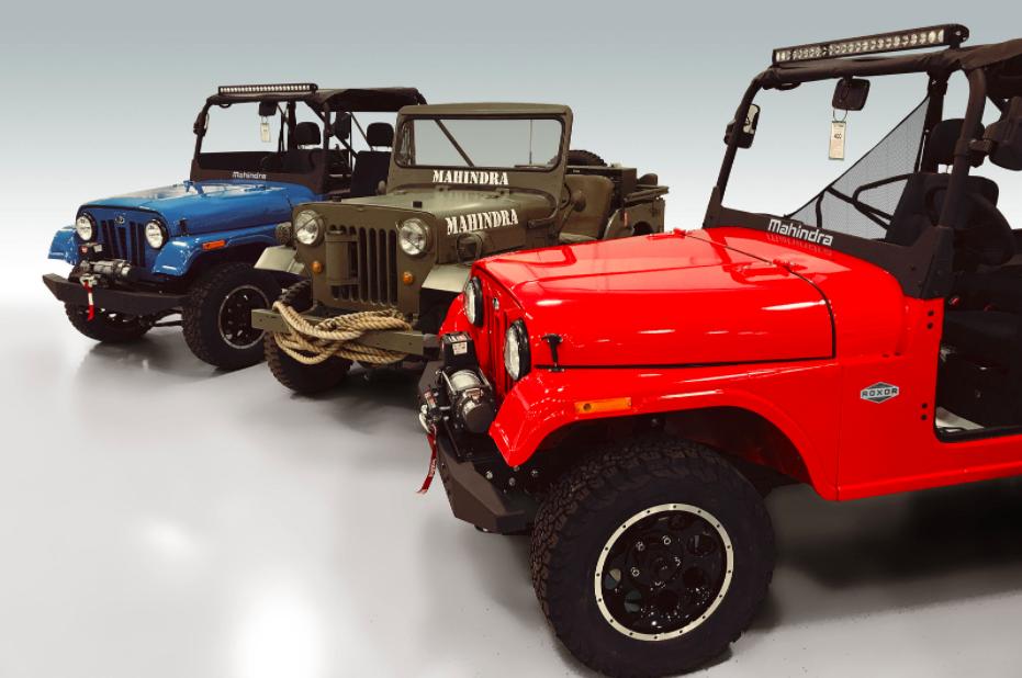 The Mahindra Roxor Is A New Side By Side That Looks Like A Jeep Cj