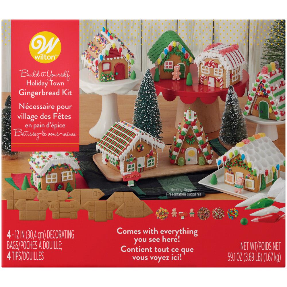 Food Gingerbread House Kits Gingerbread Village Gingerbread