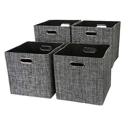 amazon posprica foldable storage cubes bins basket