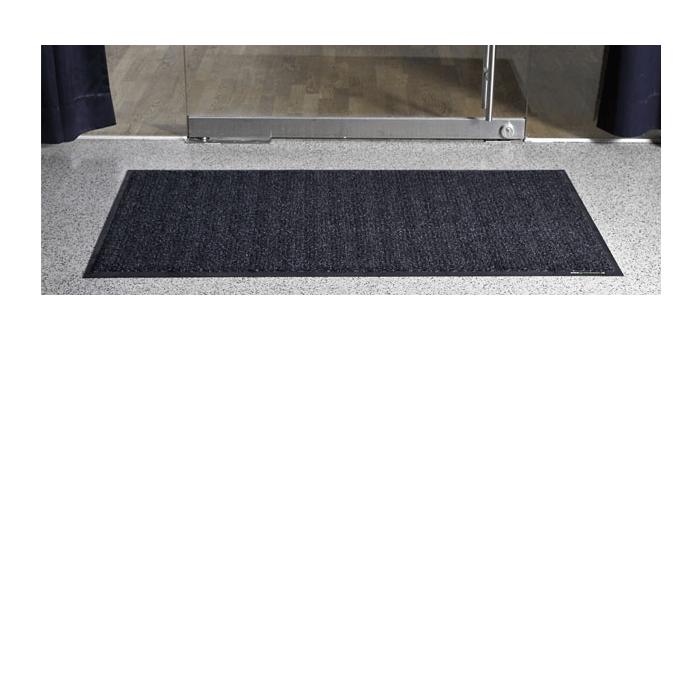 Mata wejściowa Super-Mat .Mata Super-Mat została stworzona jako mata o wysokim stopniu wytrzymałości, która spełnia nawet najsurowsze wymagania. Nadająca się do prania mata Super-Mat jest przeznaczona do użytku na obszarach wejściowych. Łączy w sobie dwa rodzaje włókien ? włókna heavy duty, które pochłaniają uporczywy brud, oraz