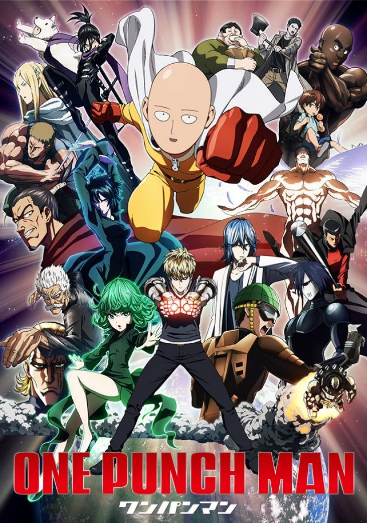ONE PUNCH MAN Anime Ger Sub