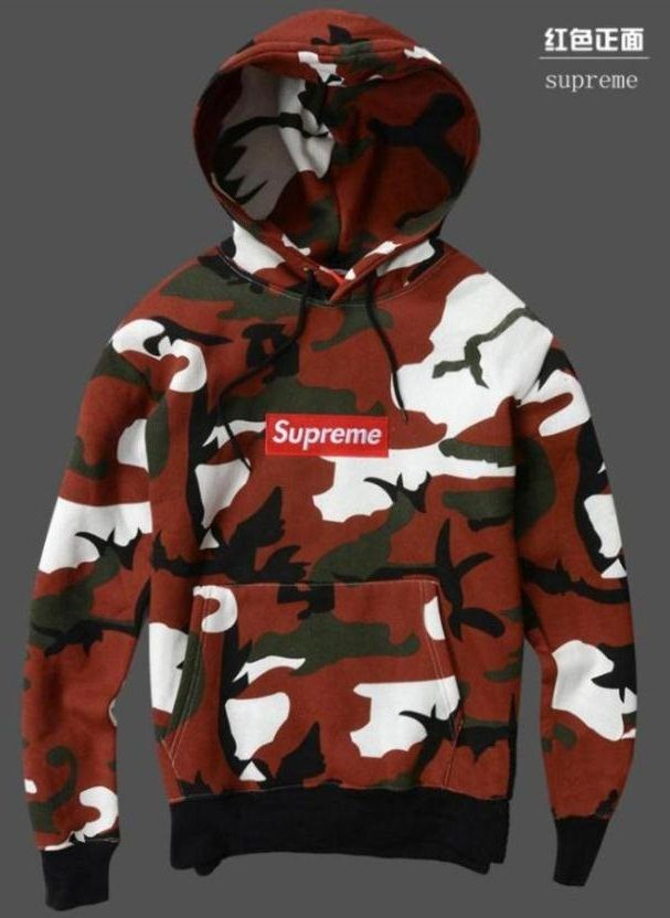 supreme camo hoodie red hoodies pinterest camo. Black Bedroom Furniture Sets. Home Design Ideas