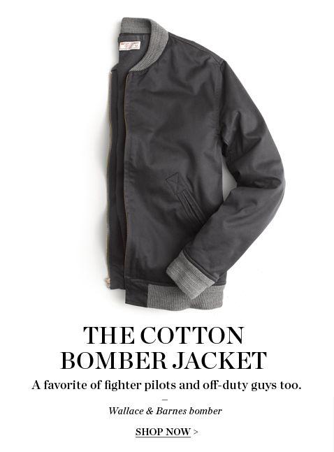 9c3c2aeb7 J.Crew - Bomber | Manwear | Mens fashion, Fashion, Style