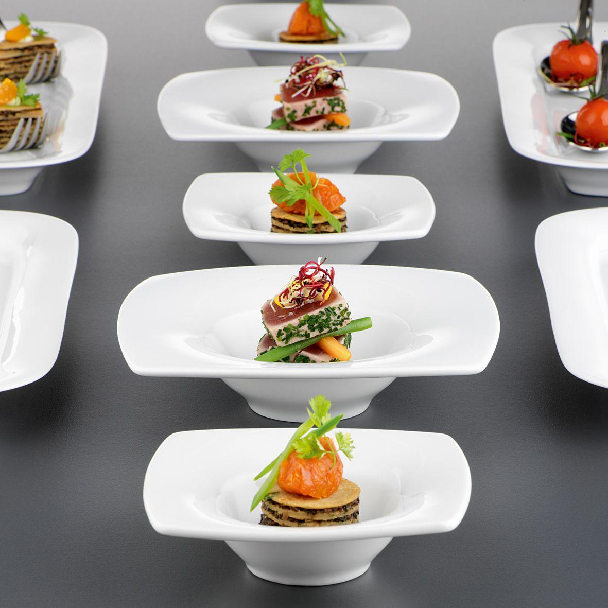 Mit SAVOY Gourmet-Tellern von Seltmann Weiden optische Highlights setzen!