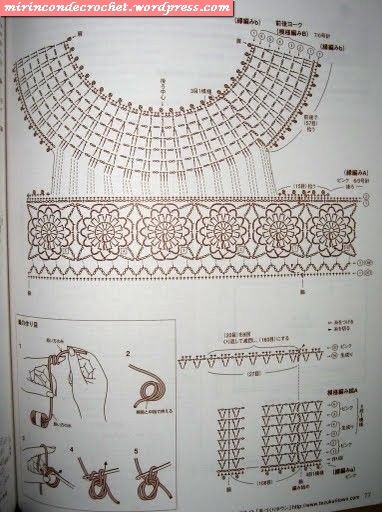 pin it vestidos de bautizo para niña tejida crochet patrones ...