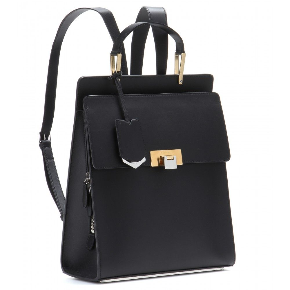 mytheresa.com - Le Dix leather backpack - Shoulder bags - Bags - Balenciaga - Luxury Fashion for Women / Designer clothing, shoes, bags