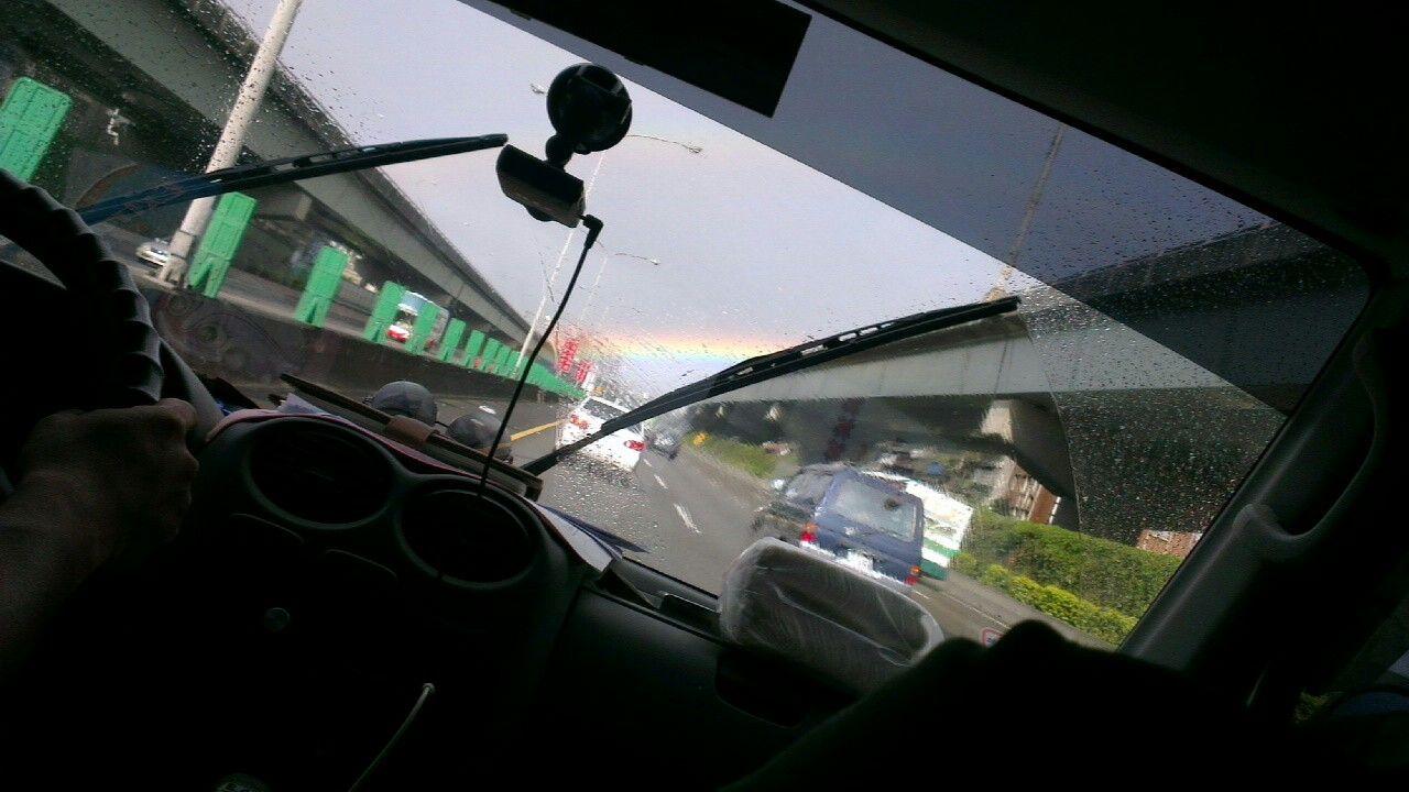 路的盡頭是上帝彩虹的約