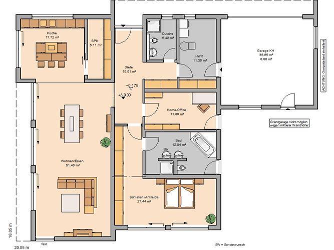 Häuser für Singles & Paare in 2019 | Haus bungalow, Kern ...
