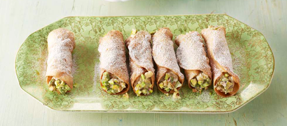 Liam's Cannoli with Baklava Filling | Recipe | British ...