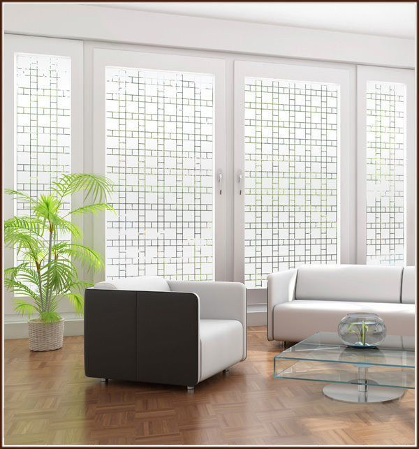 Boardwalk Semi Privacy Window Film Static Cling Window