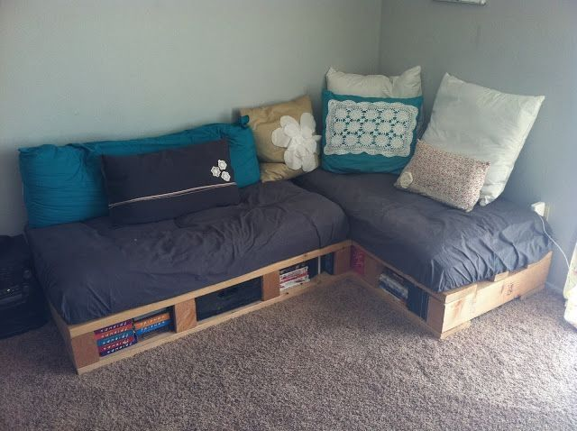 A Tribute To The Useless Things In My Life Diy Pallet Couch Pallet Furniture Cushions Pallet Furniture