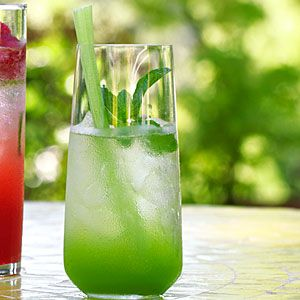 Fast & Fresh summer drinks | Green Gin Cocktail | Sunset.com