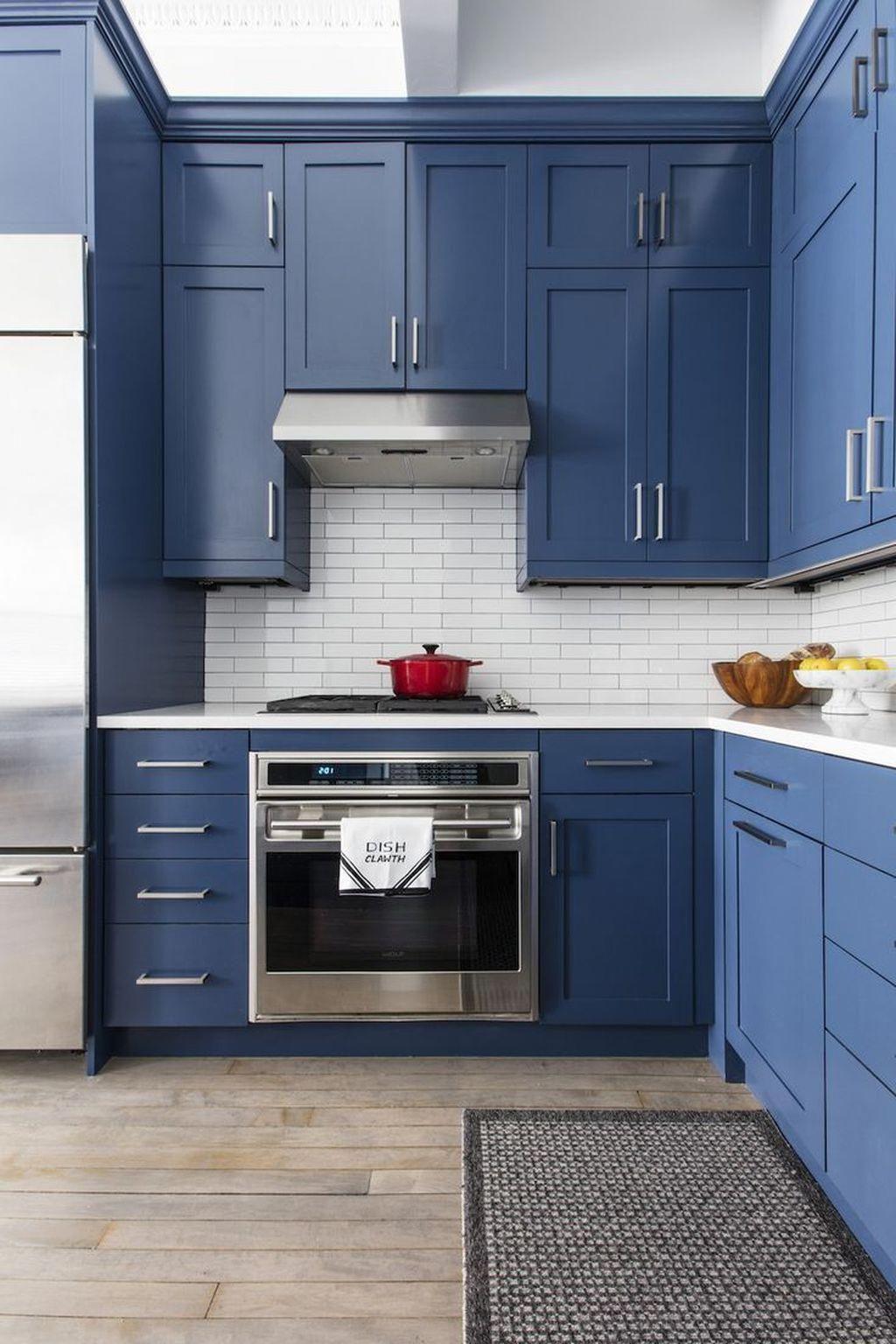 Post9965322686 in 2020   Kitchen inspiration design, Blue ...