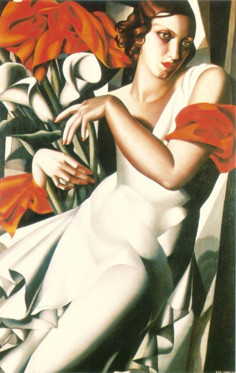met-art-tamara-d lempicka | Portrait Of Ira P - Tamara de Lempicka - WikiPaintings.org