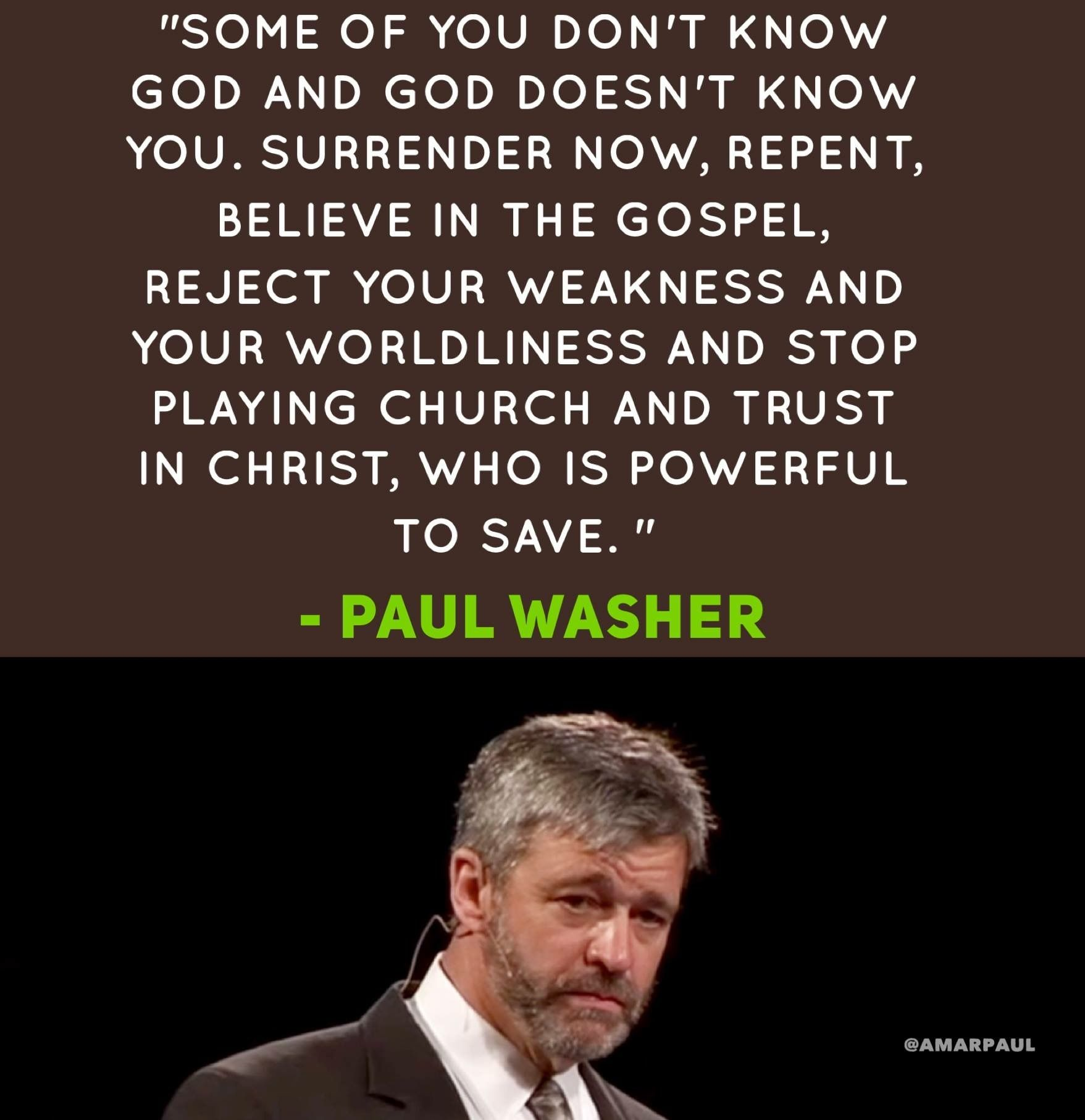 Pin by Cathie Cook on Paul Washer Paul washer quotes