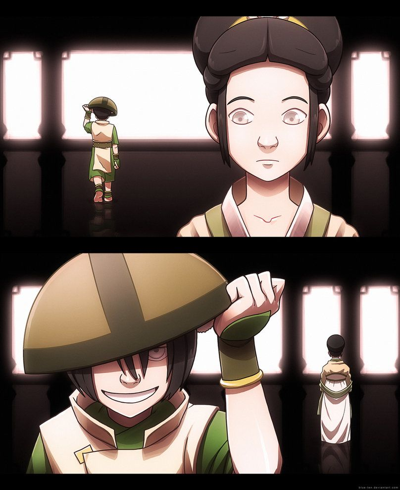 """Toph Bei Fong / The Blind Bandit.  """"Two Sides - Toph"""" by ~Blue-Ten on deviantART"""