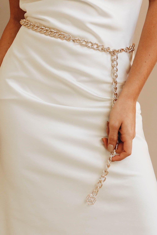 0cefd7203 Disco Tech Chain Belt – Verge Girl   Belts   Chain belts, Belt, Chain