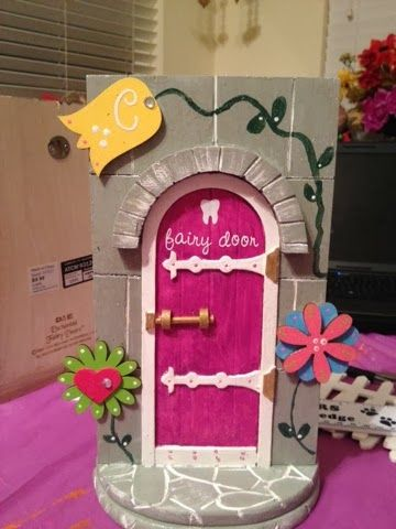 Tooth fairy door Go Ahead & Craft I think this would be cool to do ...