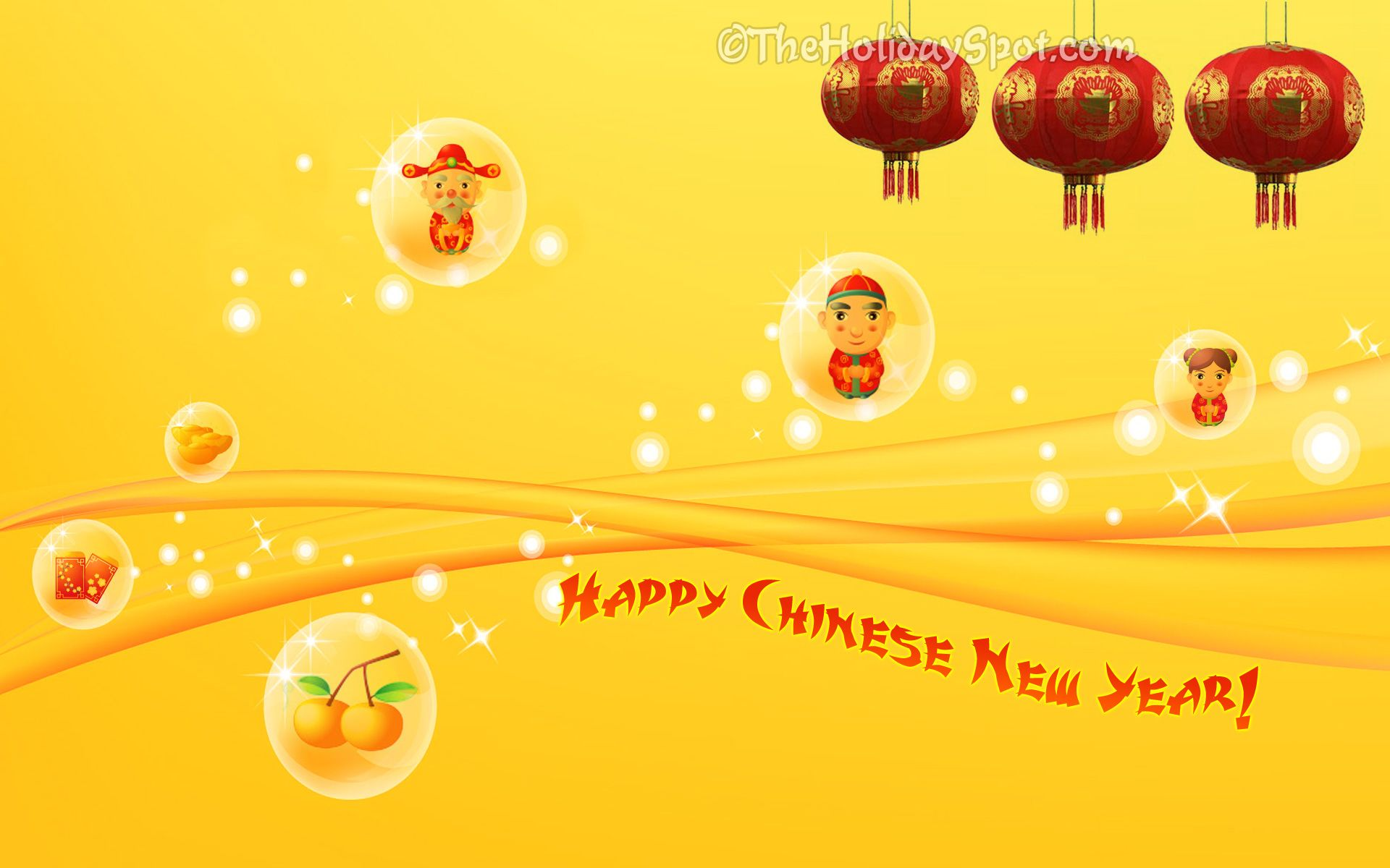 Cute Chinese New Year Wallpaper For Desktop