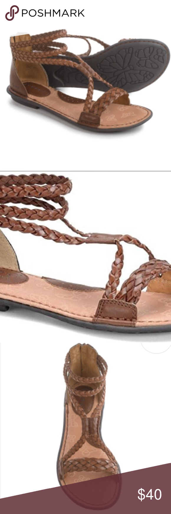 7ccb7840596 b.o.c Macedonia Gladiator Sandals - Vegan Leather New without tags or box.  Never worn Beachy