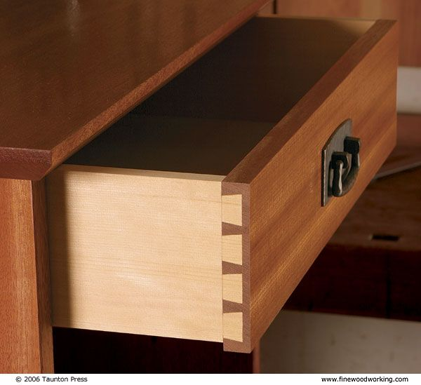 All About Dovetail Joints Fine Woodworking Article