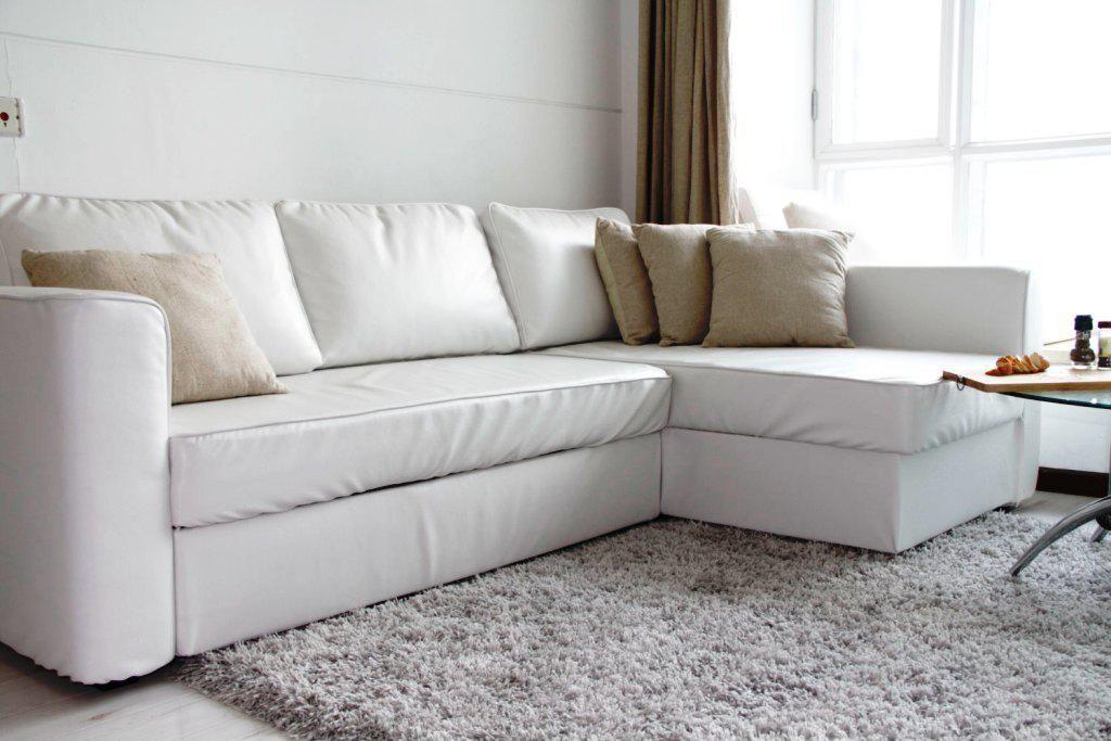 Weiße Leder Couch IKEA - Loungemöbel Überprüfen Sie mehr unter http ...