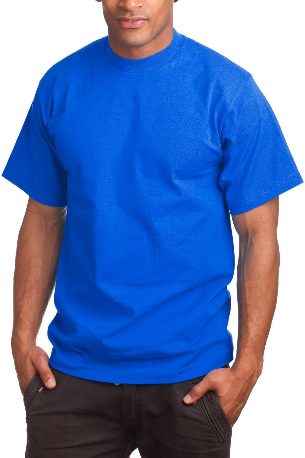 eecb45a8 Super Heavy T-shirt: Tall Sizes Mens Tee Athletic Activewear Tight Neck – Pro  5 Apparel