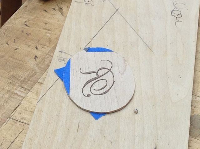 The Joy of Precision Inlaid Lettering. See for yourself! - Heritage School of Woodworking Blog - super fine marquetry
