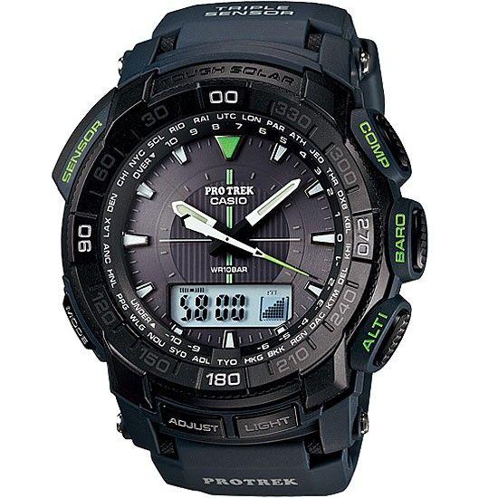 f24a506e832e Casio Protrek Tough Solar Triple Sensor Watch PRG-550-2 PRG550 ...