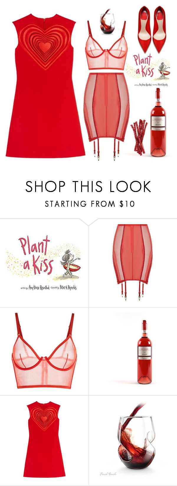 Red Valentine By Didesi Liked On Polyvore Featuring La Perla And Christopher Kane Polyvore Fashion Style
