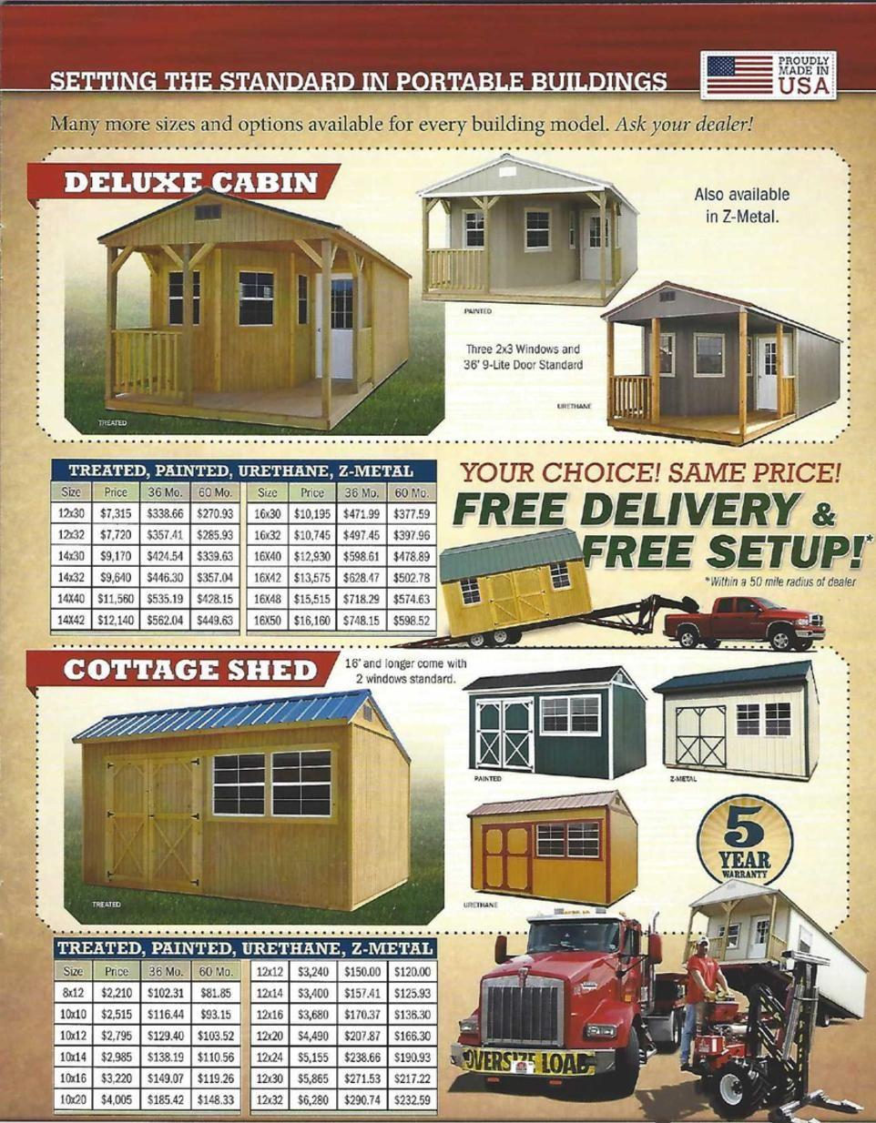 Lafayette Portable Buildings is based in Louisiana. We ...